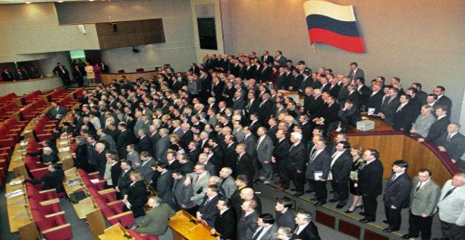 البرلمان الروسي يتهم البيت الأبيض بمحاولة زعزعة الاستقرار بأوروبا