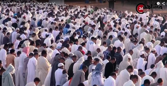 مشاهد24 يرصد لكم أجواء صلاة عيد الأضحى من الفجر إلى نهاية الصلاة