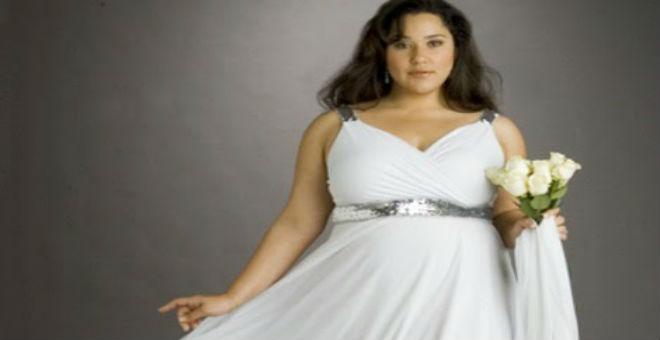 للبدينات..تعلمي قواعد اختيار فستان زفافك