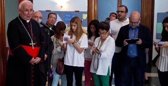 الاتحاد الأوروبي والكنيسة الاسبانية يعارضان انفصال