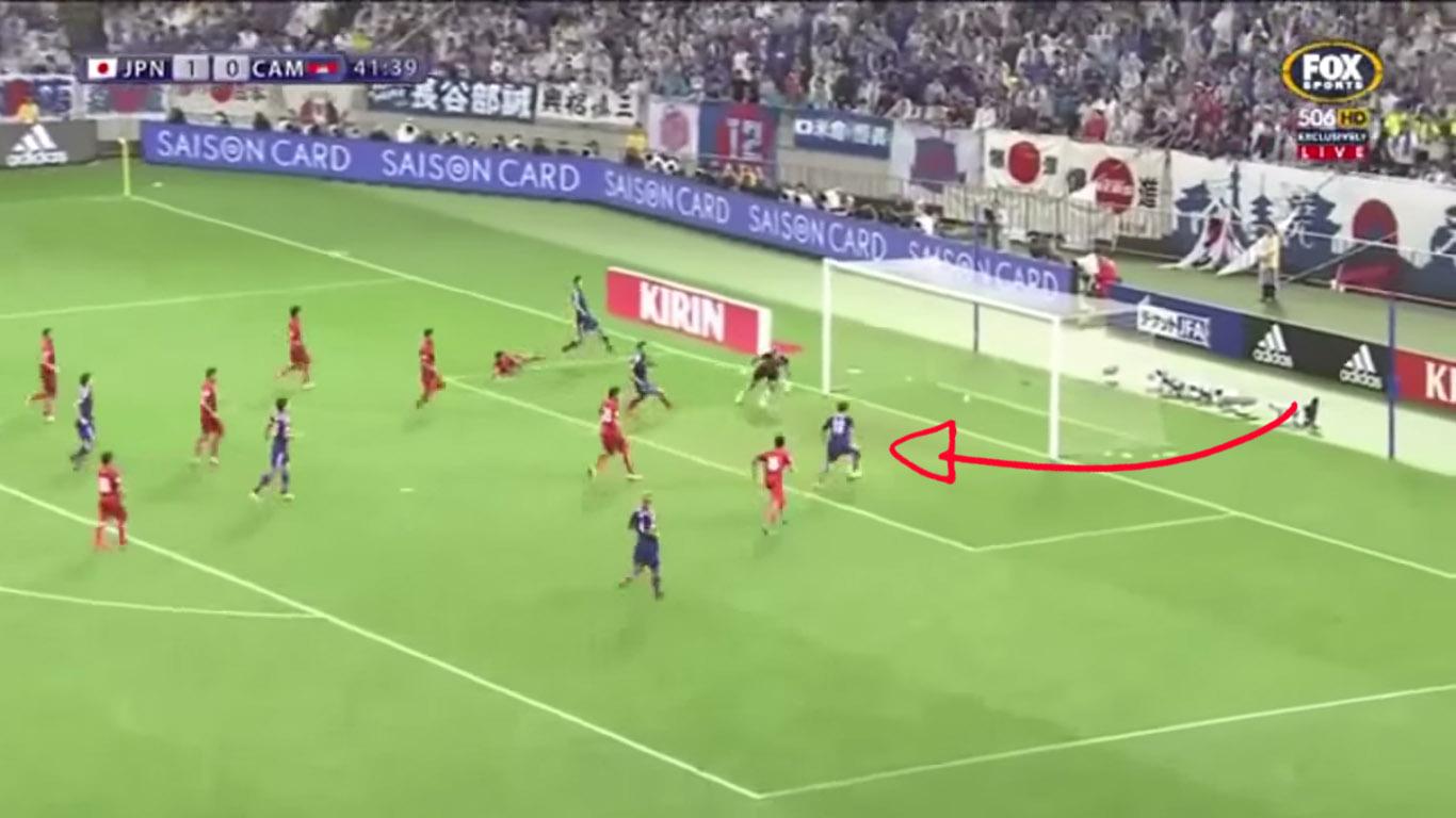 بالفيديو لاعبو اليابان مذهولون كيف أضاع كاغاوا هذه الفرصة