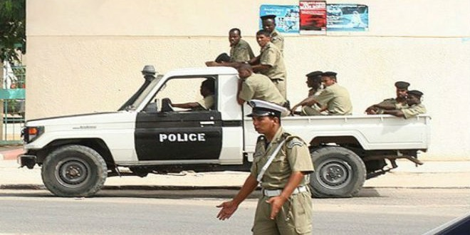 mauritanie police