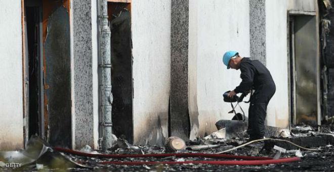 مركز لإيواء اللاجئين بألمانيا يتعرض لحريق متعمد