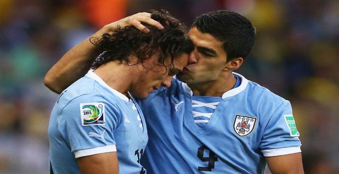 الأوروغواي تفتقد الثنائي المرعب في تصفيات مونديال