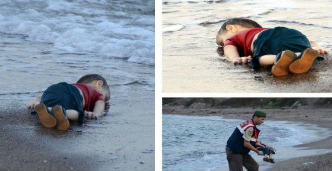 صورة الطفل السوري تعكس معاناة شعب بكامله