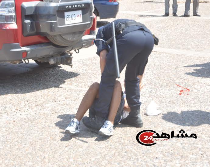 الرصاص يلعلع بمدينة الدار البيضاء لإيقاف لص خطير!