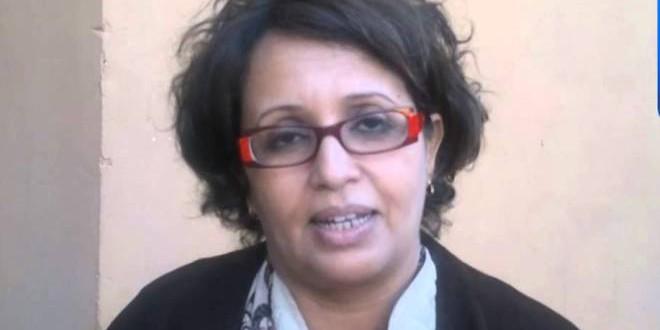 السيدة أمينة بن الشيخ