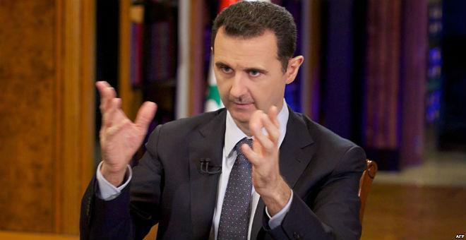 الأسد: فرنسا توفر الغطاء السياسي للتنظيمات الإرهابية في سوريا