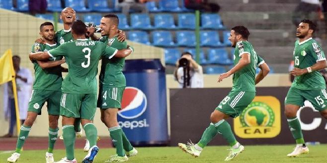 براهيمي يقود المنتخب الجزائري للفوز على السنغال