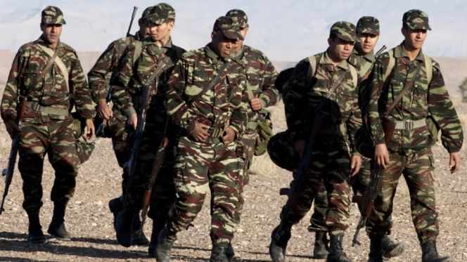 الجيش المغربي يطلق أعيرة نارية ماوراء الجدار الأمني بالصحراء