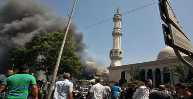 هجوم انتحاري استهدف مسجدا  بالسعودية