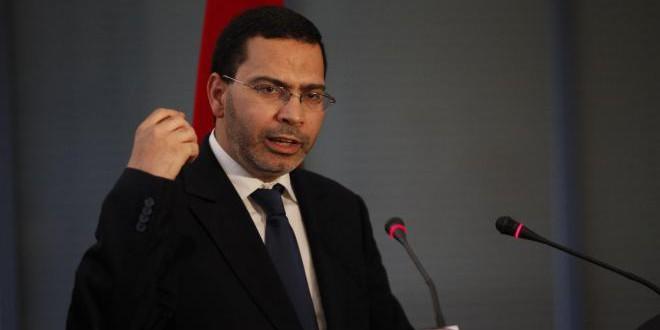 السيد مصطفى الخلفي، وزير الاتصال، الناطق الرسمي باسم الحكومة المغربية