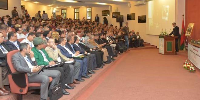 الوزير عبد العزيز العماري يفتتح اللقاءات الجهوية في الرباط