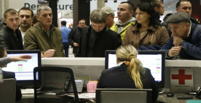 الحداد يعم روسيا بعد حادثة سقوط الطائرة في سيناء