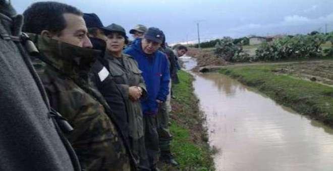 خطة عمل لمواجهة خطر الفيضانات في منطقة القنيطرة والغرب