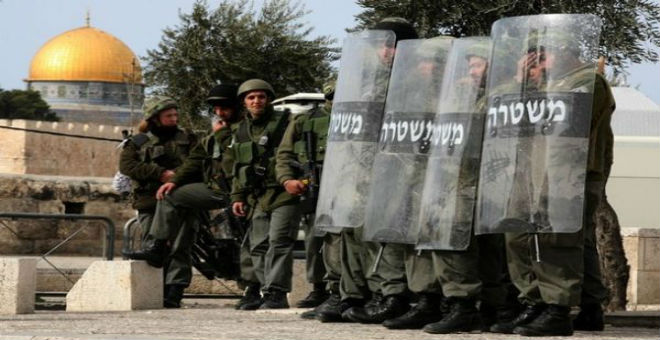 القدس تتحول إلى ثكنة عسكرية إسرائيلية تأهبا ليوم الغضب الفلسطيني