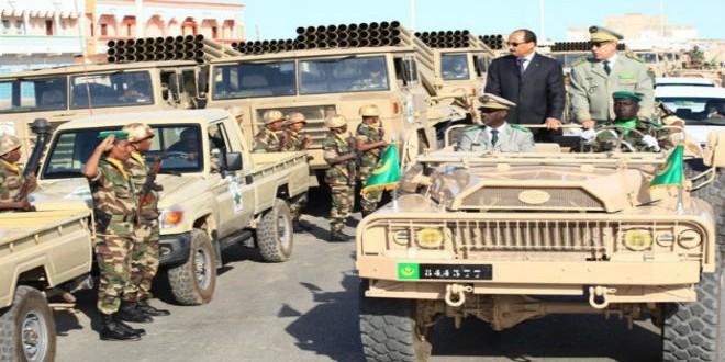 القوات الموريتانية