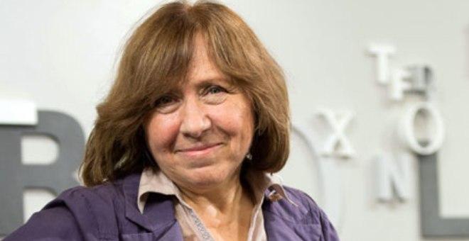 منح جائزة نوبل للآداب للكاتبة البيلاروسية سفيتلانا اليكسييفيتش
