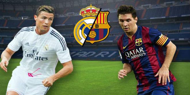 برشلونة و ريال مدريد في الكلاسيكو (التشكيلتان)