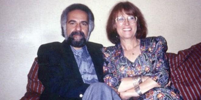 الشاعر عبد اللطيف اللعبي وزوجته جوسلين