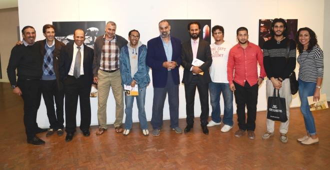 أعمال مصور مغربي شاب  تثير اهتمام زوار معرض جائزة الفن  الفوتوغرافي