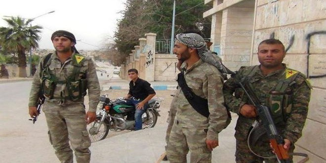 المقاتلون الأكراد في سوريا