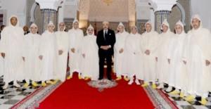 الملك محمد السادس في صورة تذكارية مع رؤساء الجهات