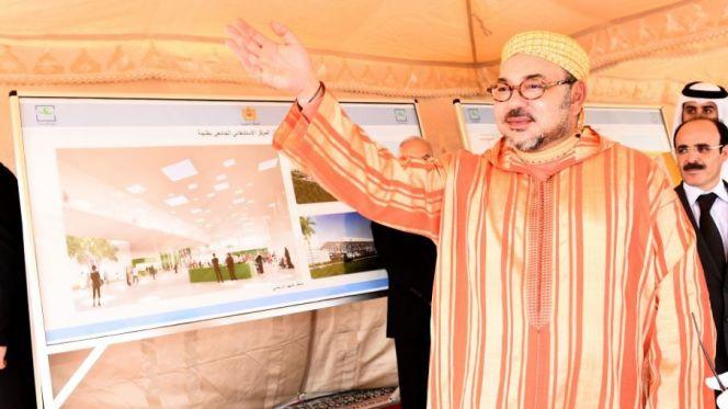 الملك محمد السادس يعطي انطلاقة أشغال إنجاز الملعب الكبير بتطوان