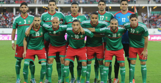 استحقاقات حاسمة للمنتخب المغربي في سنة 2016