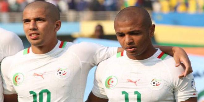 براهيمي يغيب عن مباراة الجزائر الودية أمام غينيا