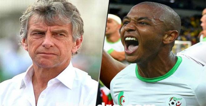 غوركوف يعتبر براهيمي هو محرك المنتخب الجزائري