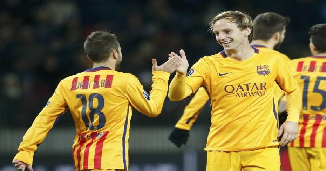 هدفي برشلونة على باتي بوريسوف