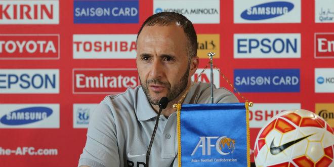جمال بلماضي مرشح لتدريب المنتخب الجزائري
