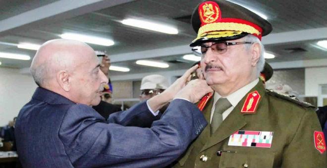 مجلس النواب الليبي يشترط بقاء حفتر لدعم مبادرة المبعوث الأممي