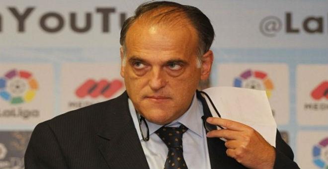 رئيس الليغا ينتقد ويهاجم إدارة ريال مدريد
