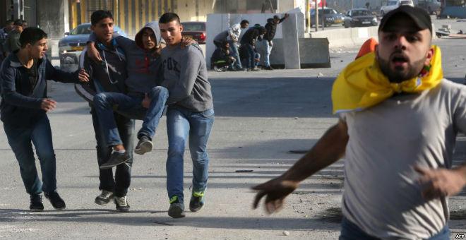 مقتل خمسة فلسطينيين في الاشتباكات مع الجيش الإسرائيلي