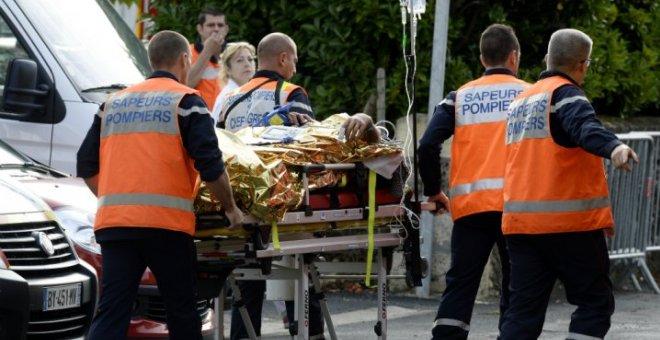 حادث خطير في فرنسا يسفر عن إصابة 49 شخصا