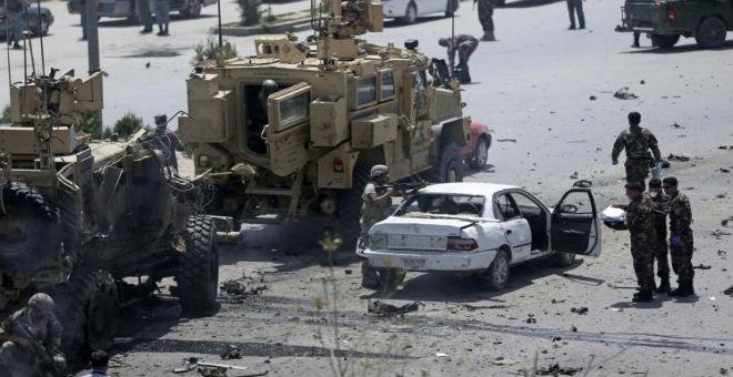 كابل..حركة طالبان تتبنى الهجوم الانتحاري على قوات