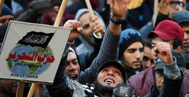 حزب التحرير السلفي يدعو إلى إسقاط النظام التونسي