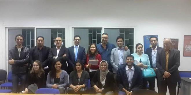 لقاء بين حكومة الشباب الموازية وممثلي طلبة الطب