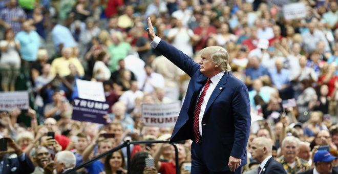 حملة ترامب تروج لمهاجرين يعبرون إلى مليلية على أنهم من المكسيك