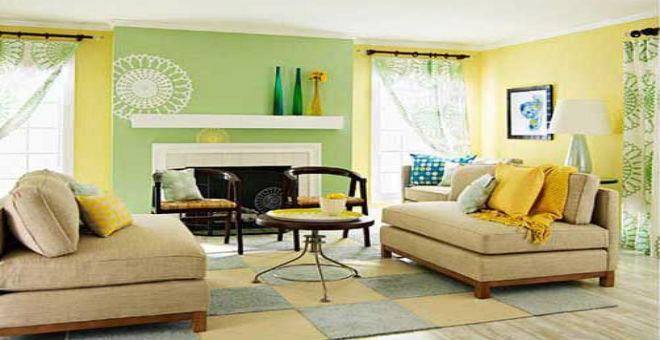 لديكور مختلف..جربي طلاء الجدران بأكثر من لون