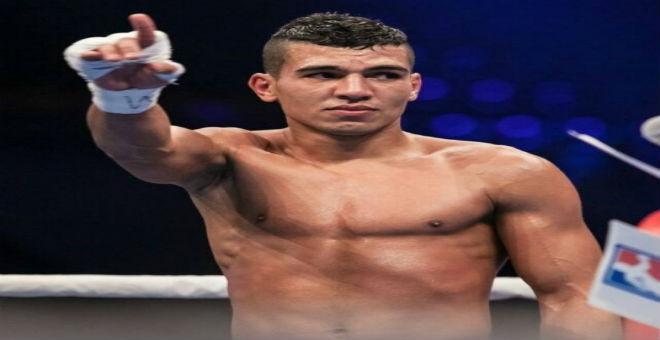 الملاكم ربيعي ينسحب من نهائي الألعاب الأولمبية التجريبية