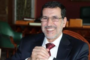 سعد الدين العثماني رئيس المجلس الوطني لحزب العدالة والتنمية