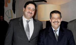 حميد شباط وعبد الصمد قيوح