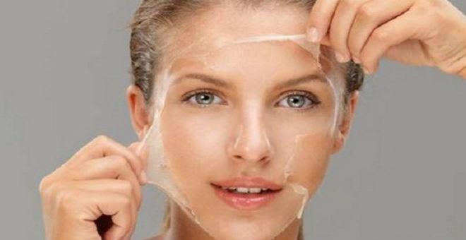 اكتشفي أرخص طريقة لتقشير الوجه طبيعيا