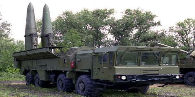صواريخ إسكندر البالستية قصيرة المدى