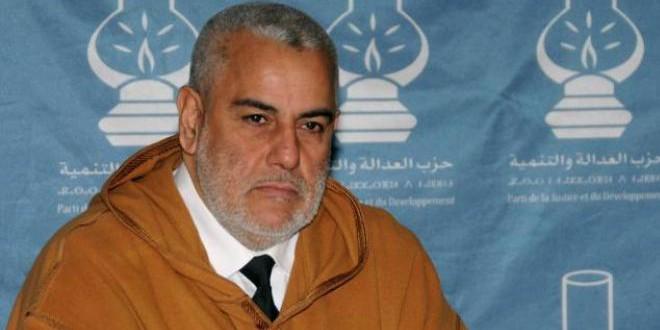 عبد الإله بنكيران، الأمين العام لحزب العدالة والتنمية