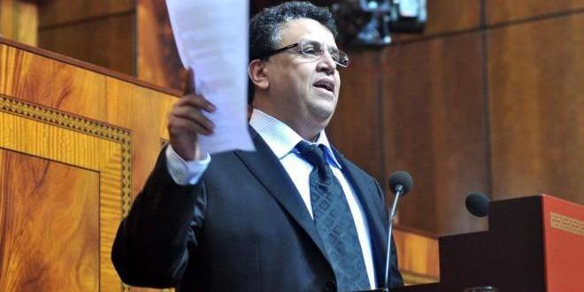 السيد عبد اللطيف وهبي، القيادي في حزب الأصالة والمعاصرة.