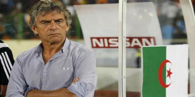 غوركوف يغادر المنتخب الجزائري بعد مباراة تنزانيا